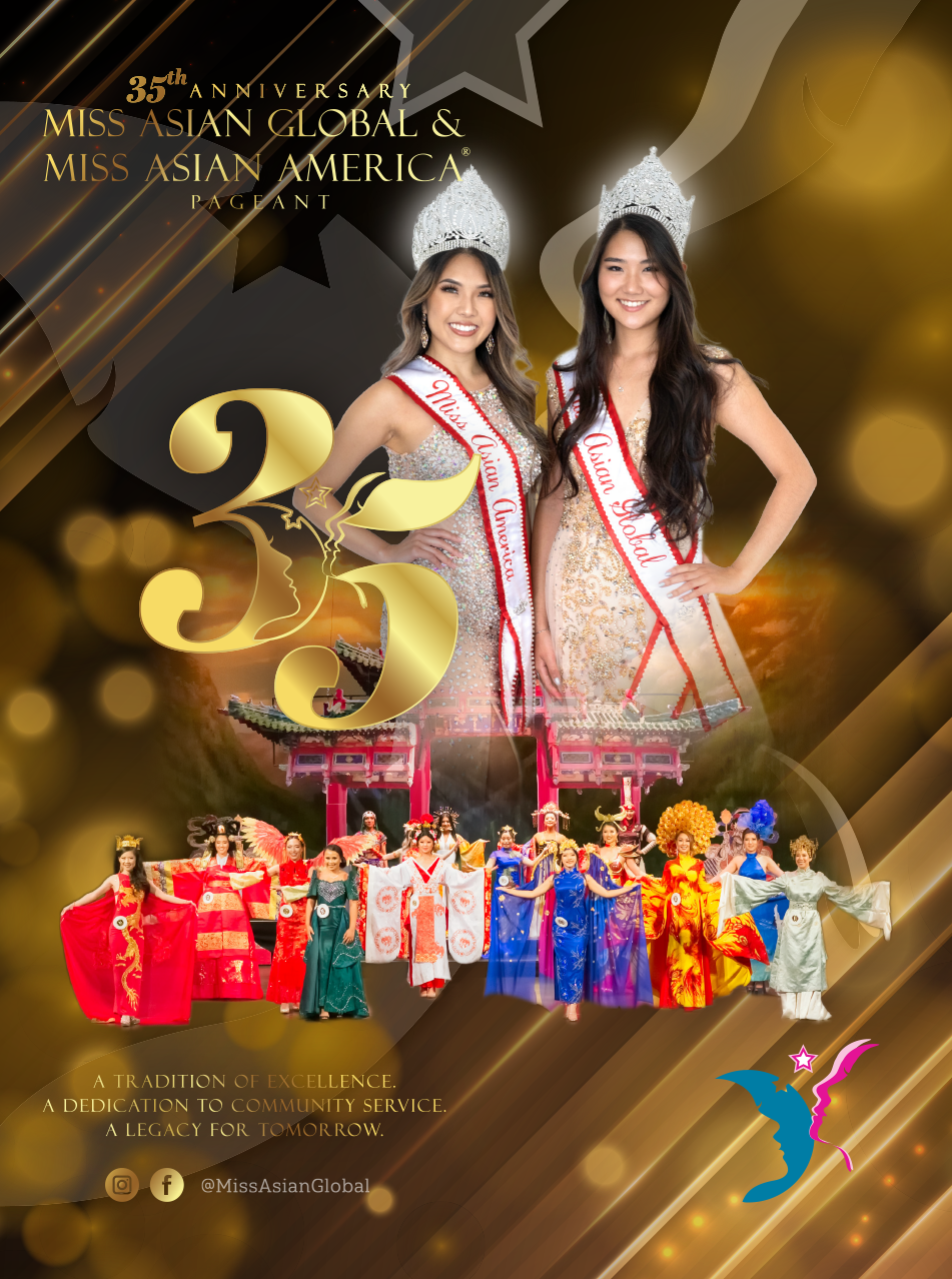 35th Anniversary Miss Asian Global and Miss Asian America Pageant 2020 Program Book