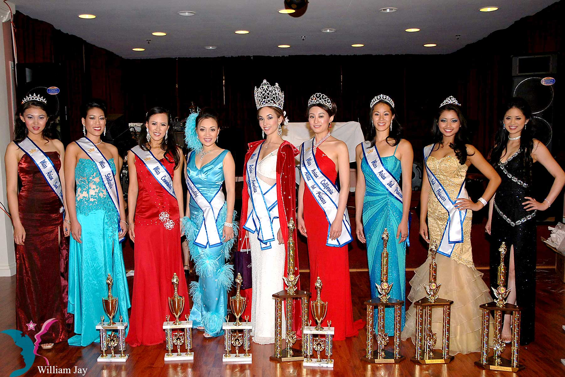 2006 Miss Asian America Pageant Queen & Court