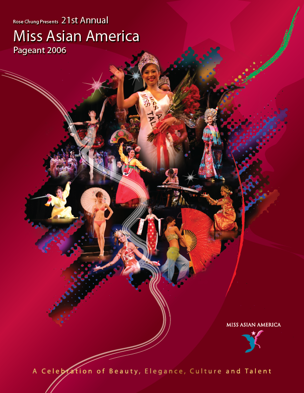 2006 Miss Asian America Pageant Program