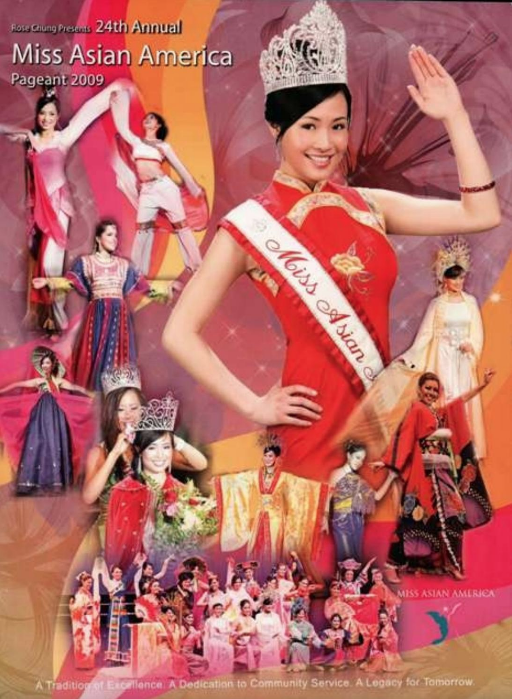 2009 Miss Asian America Pageant Program book